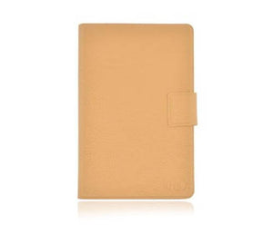 Kroo MDKFDLN1 DASH Tan Leather Kindle Fire Case