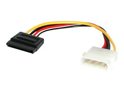"Image of StarTech SATAPOWADAP 6"" Male Molex to Female SATA Power Power Adapter"