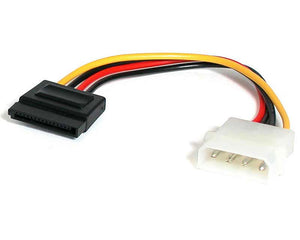 "StarTech SATAPOWADAP 6"" Male Molex to Female SATA Power Power Adapter"