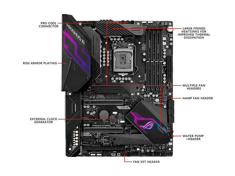 ASUS ROG Maximus XI Hero (Wi-Fi) ATX Z390 Gaming Motherboard LGA1151 (Intel 8th and 9th Gen)
