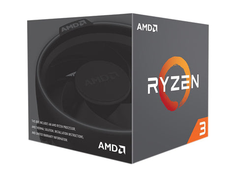 Image of AMD RYZEN 3 1200 4-Core 3.1 GHz (3.4 GHz Turbo) Socket AM4 65W YD1200BBAEBOX Desktop Processor