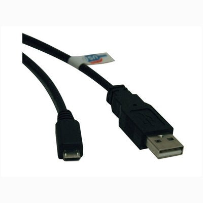 Image of Tripp Lite U050-006 6 foot Male USB 2.0 to Male Micro USB Data Cable