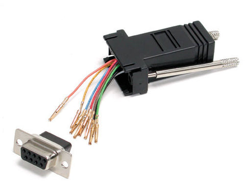 Image of Startech GC98FF Female Serial to Female RJ45 Data Modular Adapter