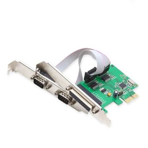 Image of Syba SI-PEX50054 PCIe 2x Serial Ports & 1x Parallel Port Controller