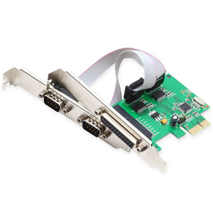 Syba SI-PEX50054 PCIe 2x Serial Ports & 1x Parallel Port Controller