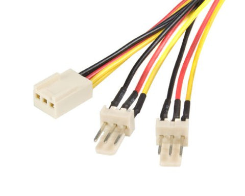 Image of Startech.com TX3SPLIT12 12 inch TX3 Fan Power Cable