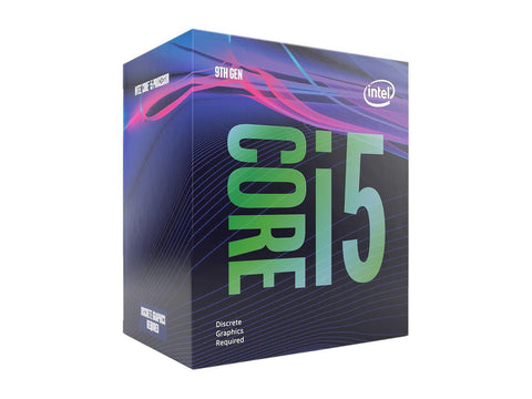 Intel Core i5-9400F Coffee Lake 6-Core 2.9 GHz (4.10 GHz Turbo) LGA 1151(300 Series) 65W BX80684I59400F No Integrated Graphics