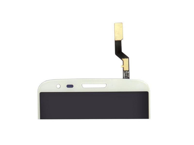 LCD & Digitizer Assembly w/ Frame for LG G2 VS980 Verizon White