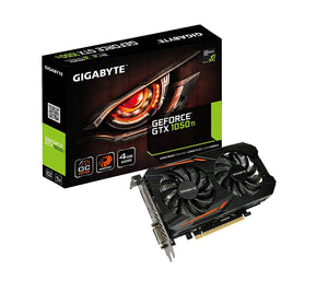 Gigabyte Ultra Durable 2 GV-N105TOC-4GD GeForce GTX 1050 Ti Graphic Card - 1.34 GHz Core - 1.46 GHz