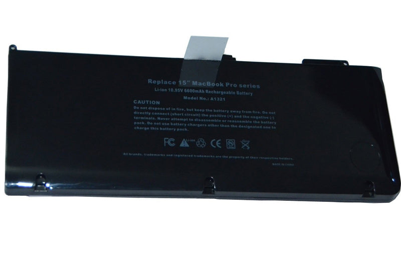 Replacement Battery for Macbook Pro 15-inch Laptops A1286 / A1321 /A1382 / 661-5211 / 661-5476