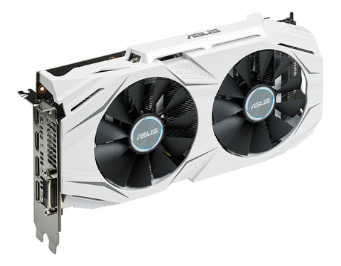 Image of ASUS GTX 1060 3GB Dual-fan OC Edition VR Ready Dual HDMI DP 1.4 Graphics Card DUAL-GTX1060-O3G