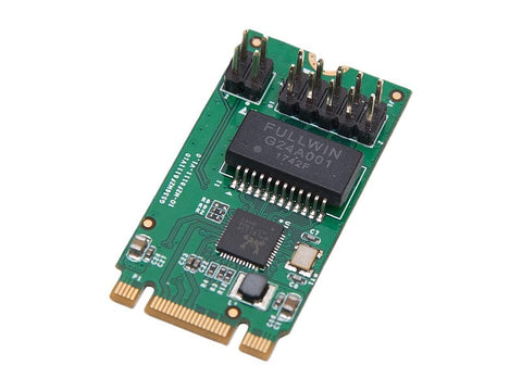 Syba SI-PEX24054 M2 (B & M-Key) PCI-E interface Single Port Gigabit Ethernet Modules - SI-PEX24054