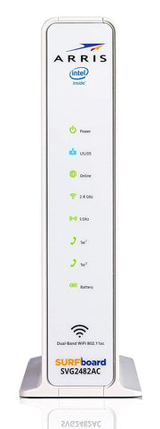 ARRIS Surfboard (24x8) Docsis 3 0 Cable Modem Plus AC1750 Dual Band Wi-Fi  Router and Xfinity Telephone, for Comcast Xfinity Only (NEW)