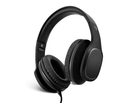 Image of V7 Over-Ear Headphones with Microphone - Black - Stereo - Mini-phone - Wired