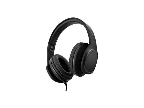 V7 Over-Ear Headphones with Microphone - Black - Stereo - Mini-phone - Wired