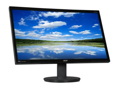 "Acer KN242HYL Black 23.8"" 4ms G to G HDMI Widescreen LED Backlight LCD Monitor IPS"