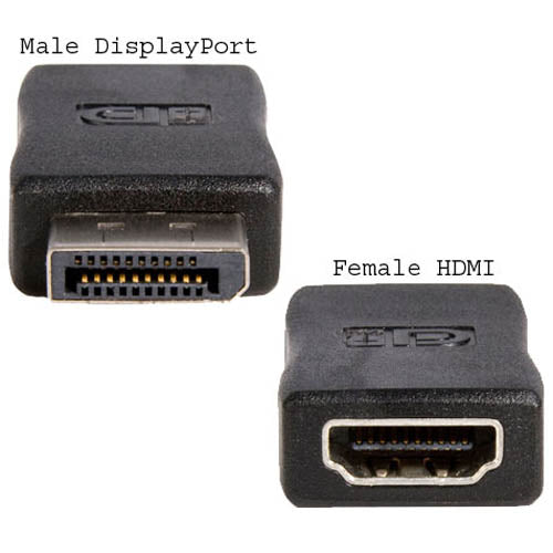 Startech DP2HDMIADAP DisplayPort to HDMI Video Adapter