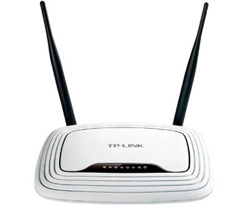 TP-LINK TL-WR841N 802.11n/g 4-Port Wireless N Broadband Router