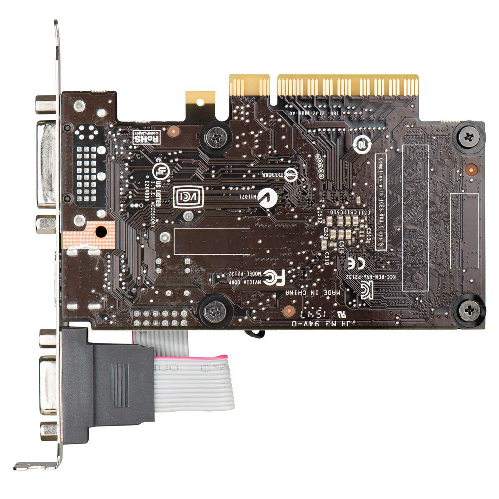 EVGA 01G-P3-2711-KR GeForce GT710 1GB DDR3 PCIE Low Profile Video Card