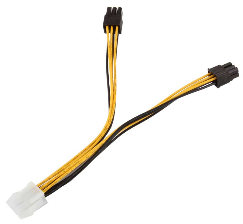 BattleBorn 6 Pin PCIE Power Splitter
