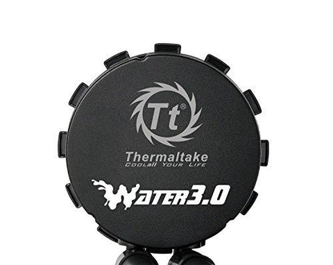 Image of Thermaltake Water 3.0 Triple Riing RGB 360 AIO Liquid CPU Cooler with 3 x 120mm Powerful High Static Pressure Fan CL-W108-PL12SW-A