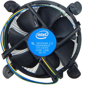 Intel E97379-003 CPU Cooler Socket 11561155/1150 4 Pin Aluminum Heat Sink Fan Supports Intel Core i3/i5/i7