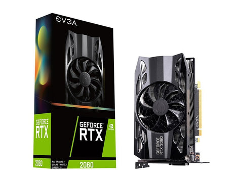 EVGA GeForce RTX 2060 GAMING, 06G-P4-2060-KR, 6GB GDDR6, HDB Fan