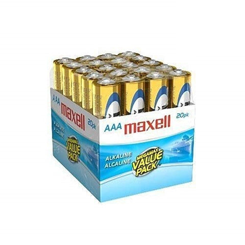Maxell AAA Alkaline General Purpose Battery LR06 20MP - 20-pack