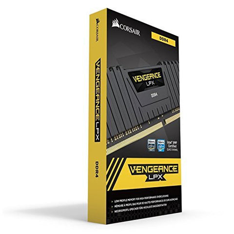Image of CORSAIR Vengeance LPX 16GB 2x8GB 288pin DDR4 3000 PC4 24000 Ram Kit CMK16GX4M2B3000C15