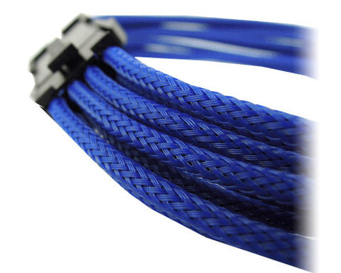 Image of GeLid CA-8P-03 300mm Blue UV-Reactive Sleeve 8-pin EPS Cable