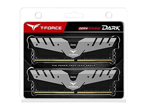 Team Dark 16GB (2 x 8GB) 288-Pin DDR4 SDRAM 3000 (PC4 24000) Memory Model TDGED416G3000HC16CDC01