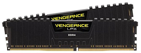 Image of CORSAIR Vengeance CMK16GX4M2Z2666C16 LPX 16GB (2 x 8GB) DDR4-2666 Memory Kit
