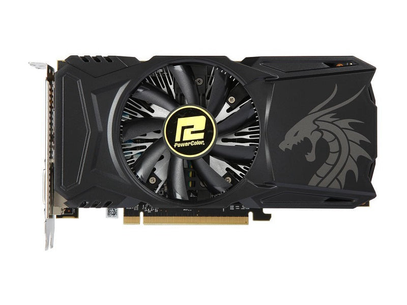PowerColor Red Dragon Radeon RX 560 14CU 4GB 128-Bit GDDR5 DirectX 12 AXRX 560 4GBD5-DHA PCI Express 30 Video Card