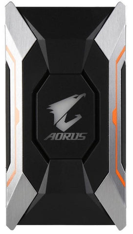 Image of GIGABYTE GC-A2WAYSLIL RGB Gigabyte AORUS SLI Bridge RGB (2 Slot Spacing) Graphic Cards