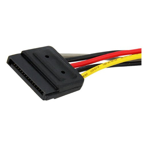 "Image of StarTech PYO2SATA 6"" SATA Y-Splitter Power Cable"