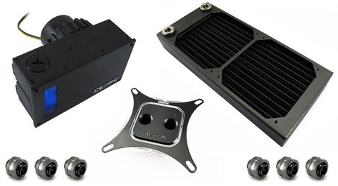 XSPC RayStorm D5 Photon AX240 Water Cooling Kit for Intel Sockets