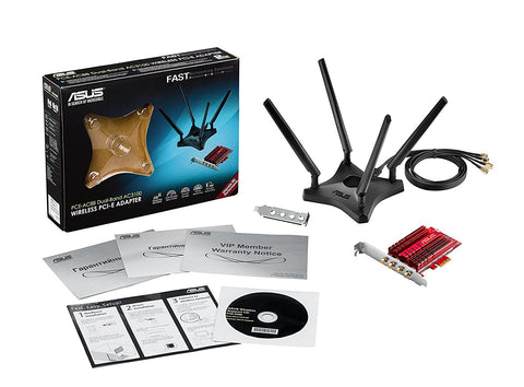 Asus Pce-Ac88 Wireless Ac3100 Pcie Adapter