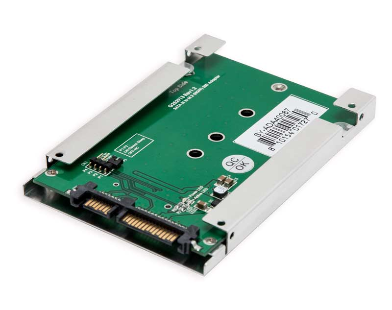 Syba SY-ADA40087 Driverless 2.5 Inch SATA III to M.2 SSD Adapter