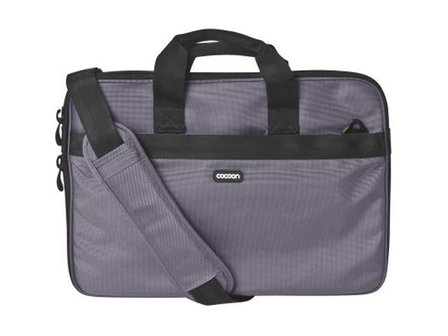 Cocoon CLB409GY Ballistic Nylon Laptop Case w/Strap & Grid-It Organization System (Gun Gray)