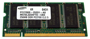 256mb Ddr Pc2700 Cl2.5 Memory M470l3224ft0-cb3