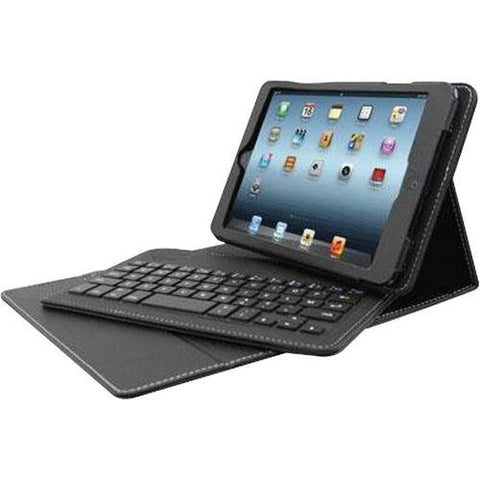 "Solidtek 7"" Bluetooth Keyboard iPad Mini Folio Case"