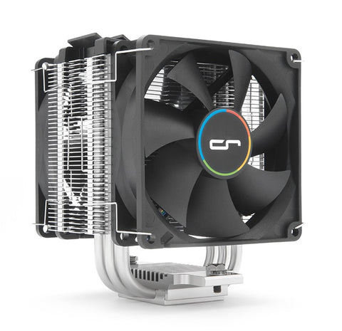 Image of Cryorig M9 Plus Single Tower Heatsink with 2-92mm Fans Intel/AMD