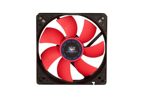 Kingwin CF-012LBR Black and Red 120mm Long Life Bearing Case Fan