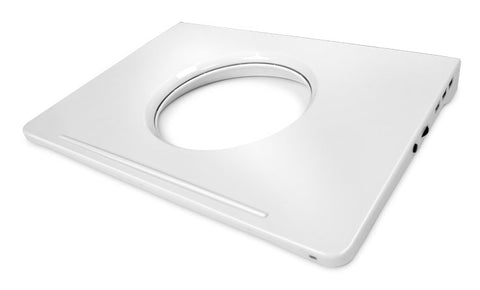 "Image of NZXT RN-CRV60-W1 Cryo V60 Aluminum Cooler for 16"" Laptops (White)"