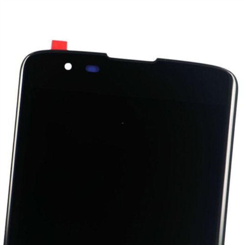 Front LCD Assembly for LG K7/M1/Tribute 5, Original, Black