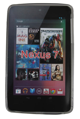 Kroo MGN7-TP Smoke TPU Google Nexus 7 Cover