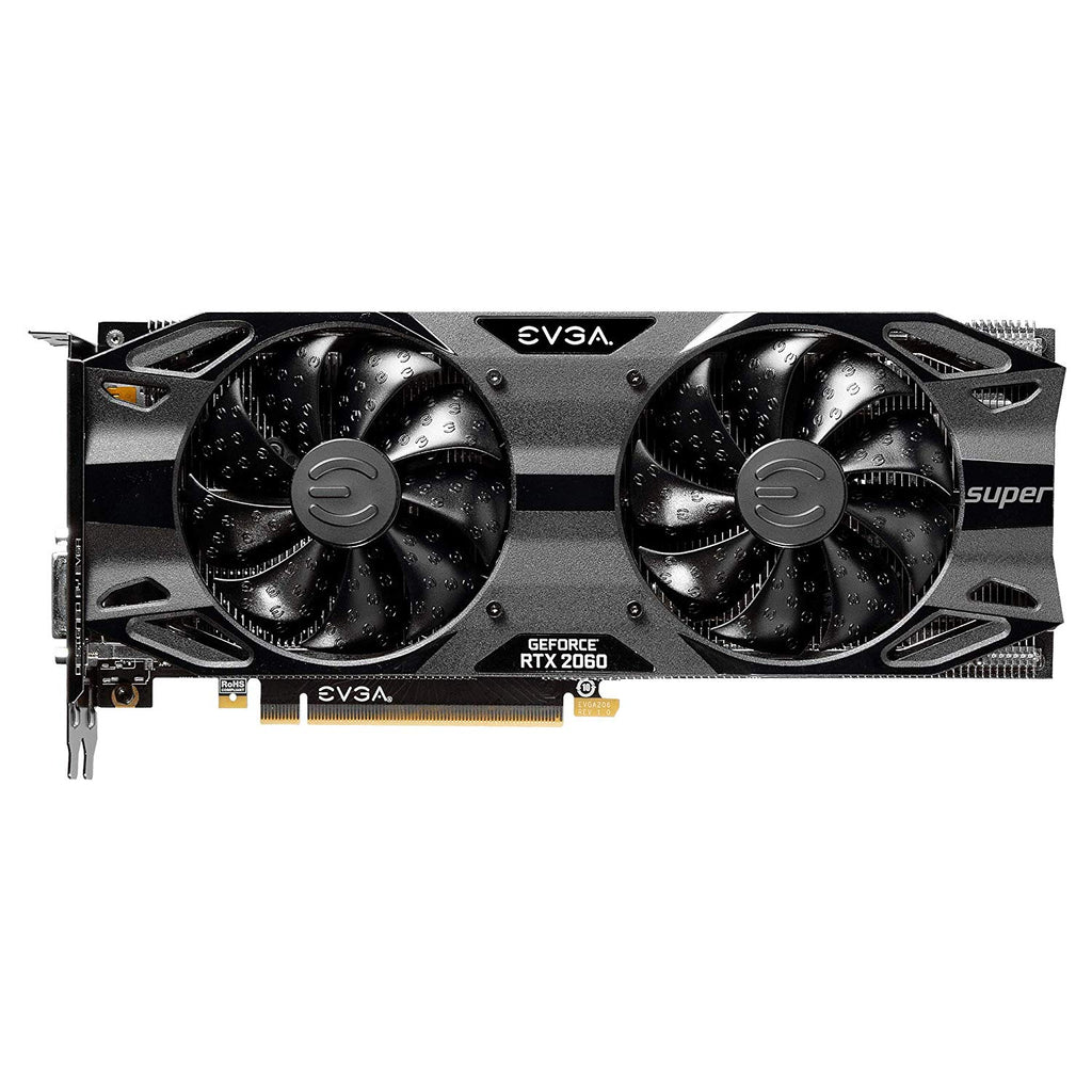 EVGA GeForce RTX 2060 SUPER SC ULTRA GAMING, 08G-P4-3067-KR, 8GB GDDR6, Dual HDB Fans, Metal Backplate