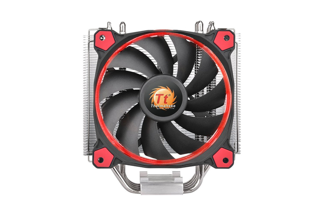 Thermaltake Cl-P022-Al12Re-A Riing Silent12 Cpu Cooler Red