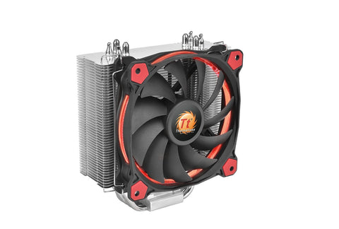 Image of Thermaltake Cl-P022-Al12Re-A Riing Silent12 Cpu Cooler Red
