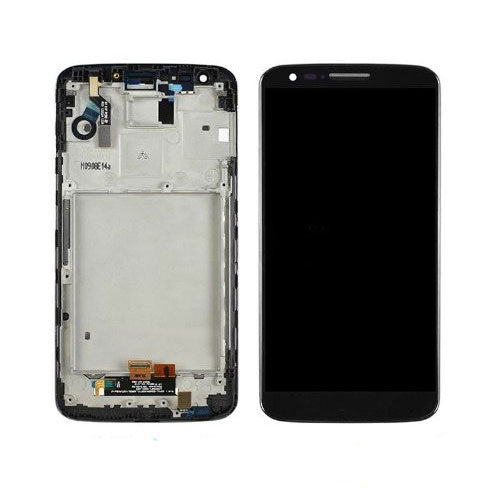 LCD/Touch Screen Digitizer Assembly with Frame for G2 D802 D805 Black